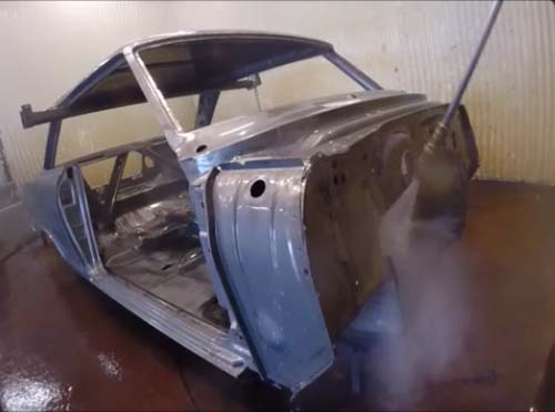 2 Nova cleaning after acid dipping