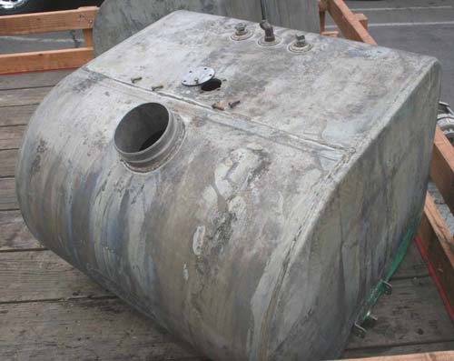 402 diesel fuel tank after hot tank dipping acid rust removal