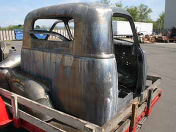 7120 48 51 Chevy pickup cab chemical dipped