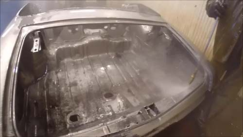High Pressure Cleaning 2 Metal Dipping